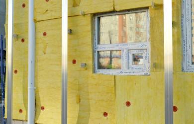 Zateplování fasád a oken