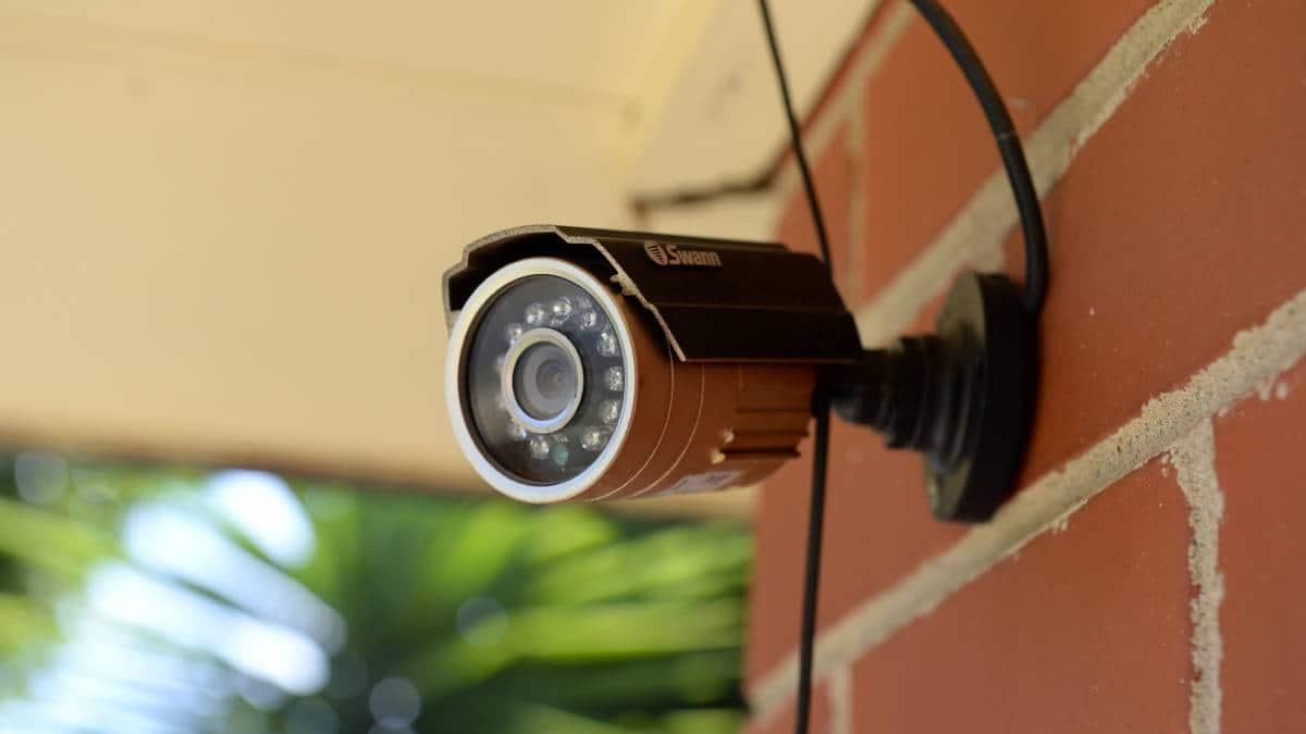 Zabezpečení domu: Kamera