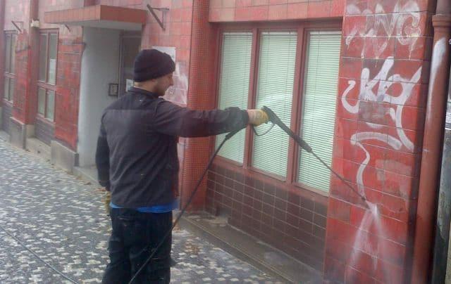 Odstranění grafity