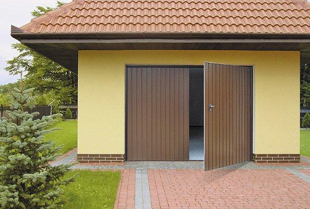 Křídlová garážová vrata